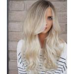 Extension Tissage Blond Platine Clair