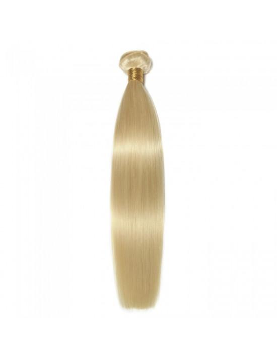 Tissage pas cher cheveux blond platine