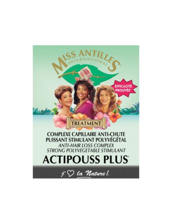 Actipouss Miss Antilles - Traitement anti chute cheveux