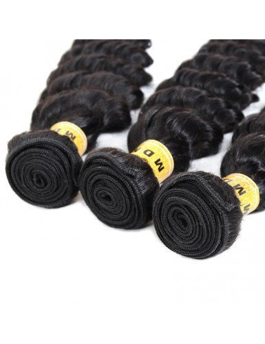 meches deep wave cheveux remy
