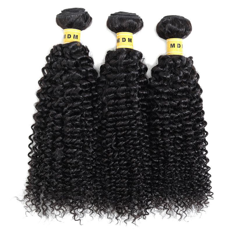 Mèches naturelles kinky curly lot 3 paquets