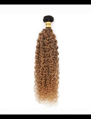 Tissage curly hair ombré 1B/27