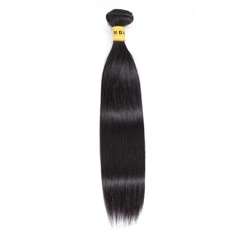 Tissage brésilien lisse 100% cheveux naturels remy