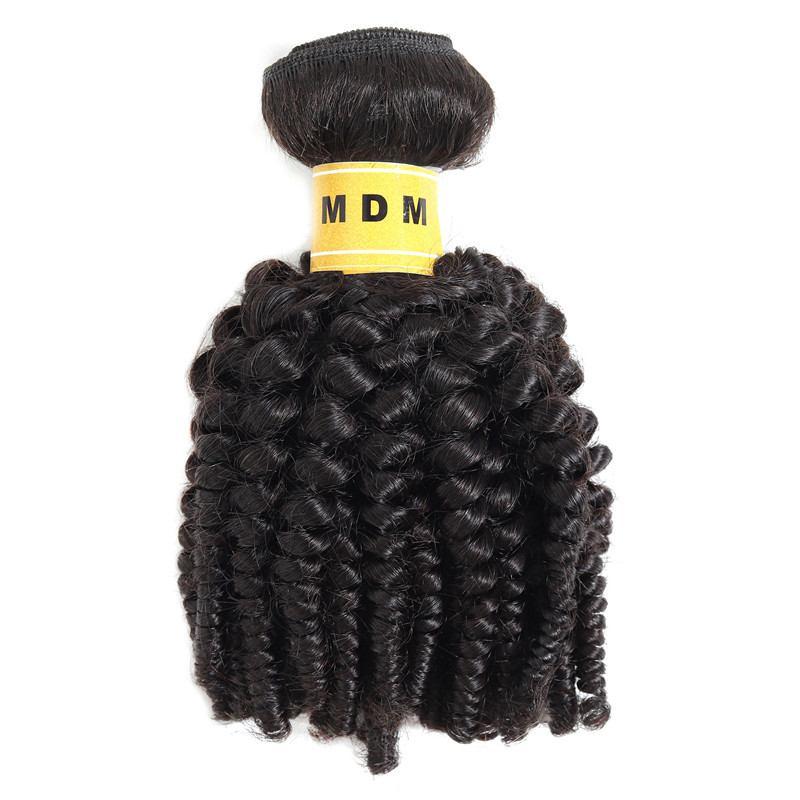 Cheveux afro frisés en mèche de 100% cheveux naturels remy
