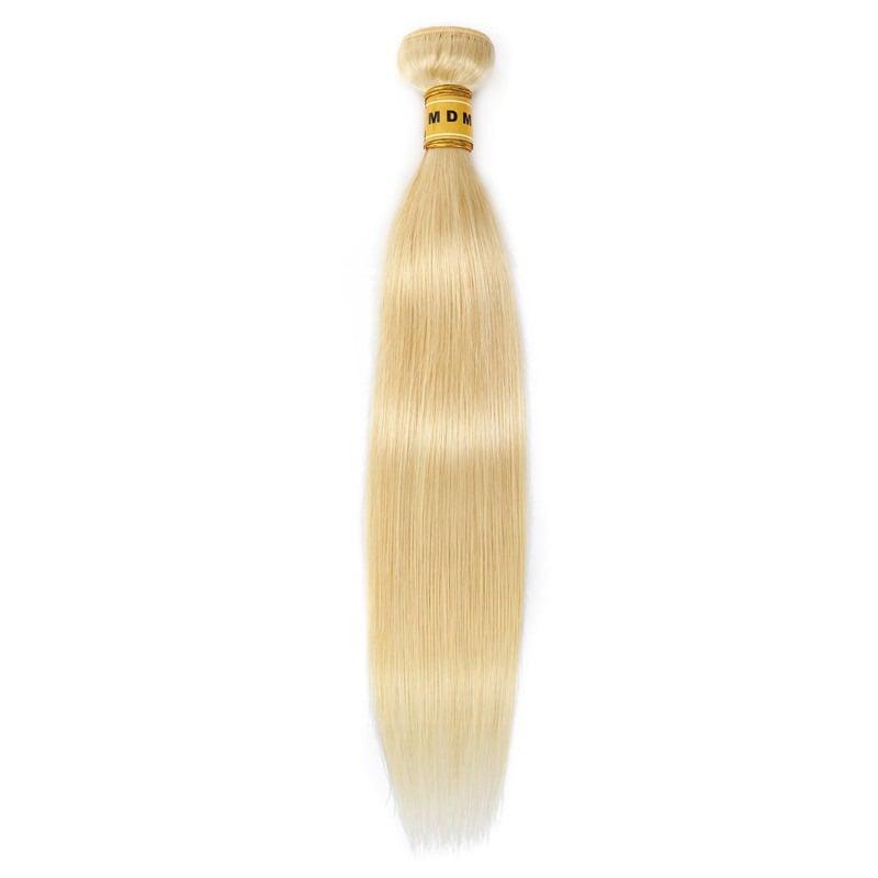 tissage blond platine