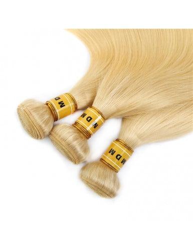 tissage blond remy
