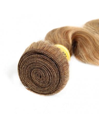 cheveux remy couleur châtain claire