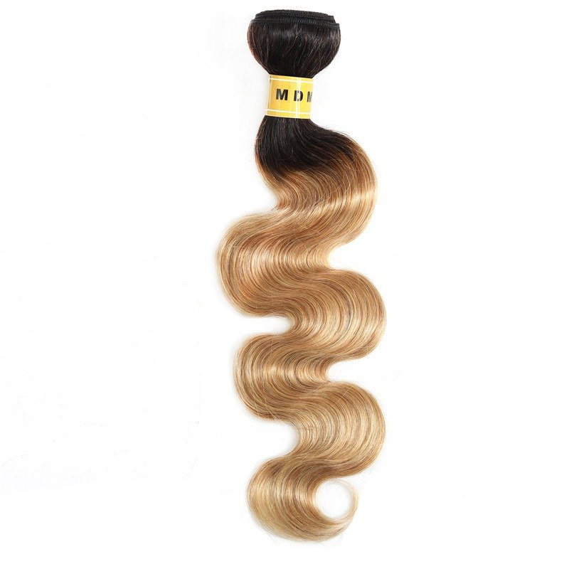 tissage blond ombré body wave