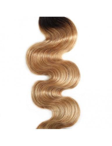 cheveux naturels blond ombré