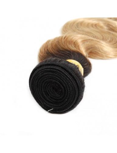 mèche blond ombré ondulé
