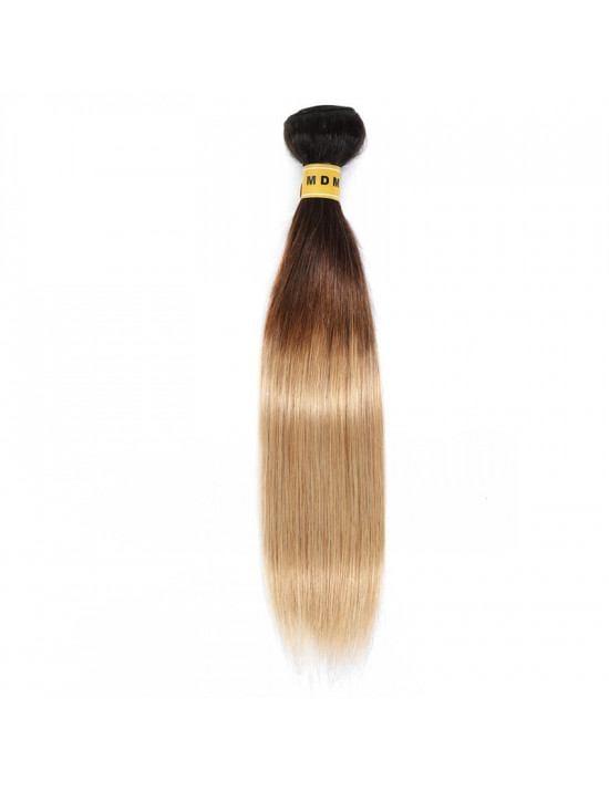 Tissage naturel 3 couleurs 100% cheveux naturels