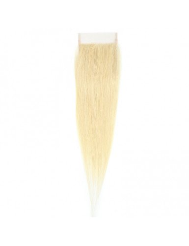 Lace closure blonde platine...