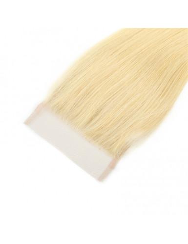 tissage blond avec clousure