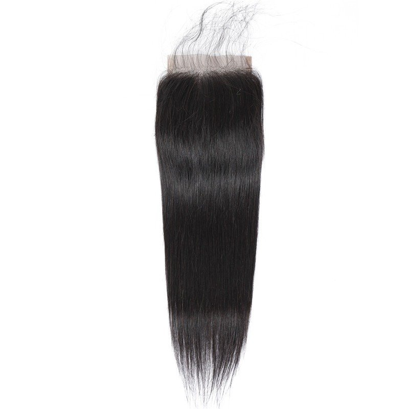 Lace closure tissage lisse