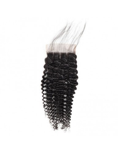 Lace closure tissage frisé...