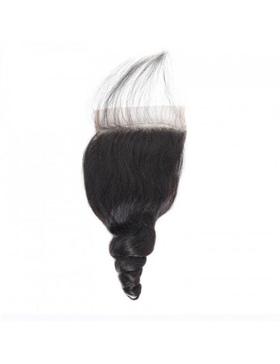 Lace closure tissage loose wave 100% cheveux naturels remy