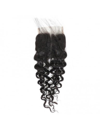 Lace closure tissage bouclé...