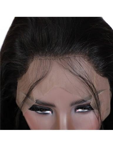 Lace 360 cheveux naturels remy