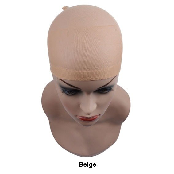 Bonnet perruque wig beige naturel