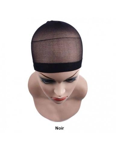 Bonnet perruque wig noir black