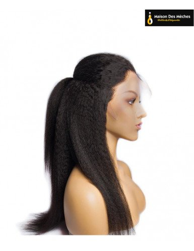perruque kinky straight lisse afro