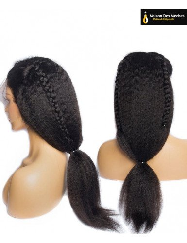 lace wig yaki straight 24 26 pouces