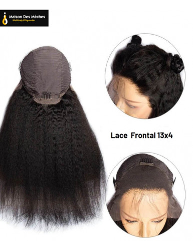 LACE FRONT WIG YAKI