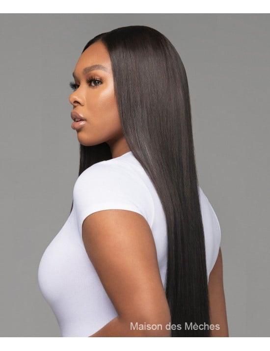 Perruque lace wig lisse 100% cheveux naturels vierges