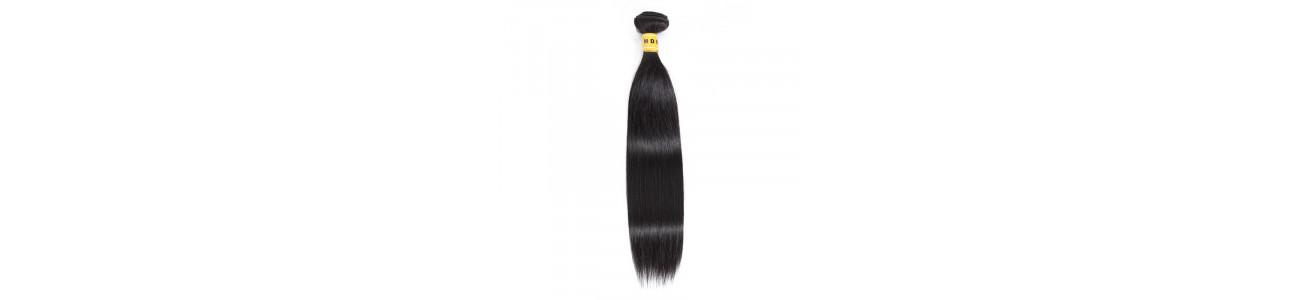 Tissage Lisse Naturel - 100% Cheveux Remy Hair