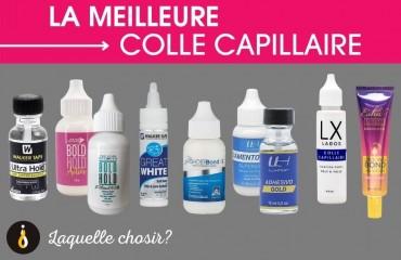 Quel est la meilleure colle capillaire?