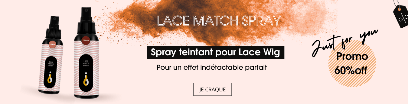 Lace tint match spary